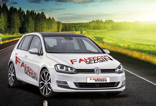 Fahrschule Gezgin / Esslingen / Fahrschulauto Golf 7